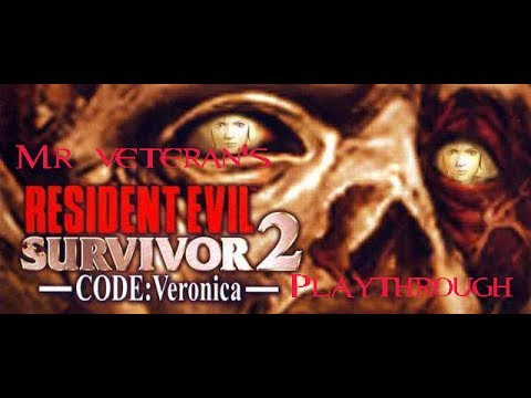 Resident Evil Survivor 2: Code Veronica PS2 HD playthrough