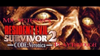 Resident Evil Survivor 2: Code Veronica PS2 HD playthrough