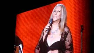 barbra streisand musicares 2011 small performance clip i finally found someone