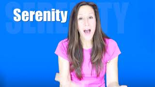 Sing and spell SERENITY with Patty Shukla for Toddlers and Babies | What's Your Name?