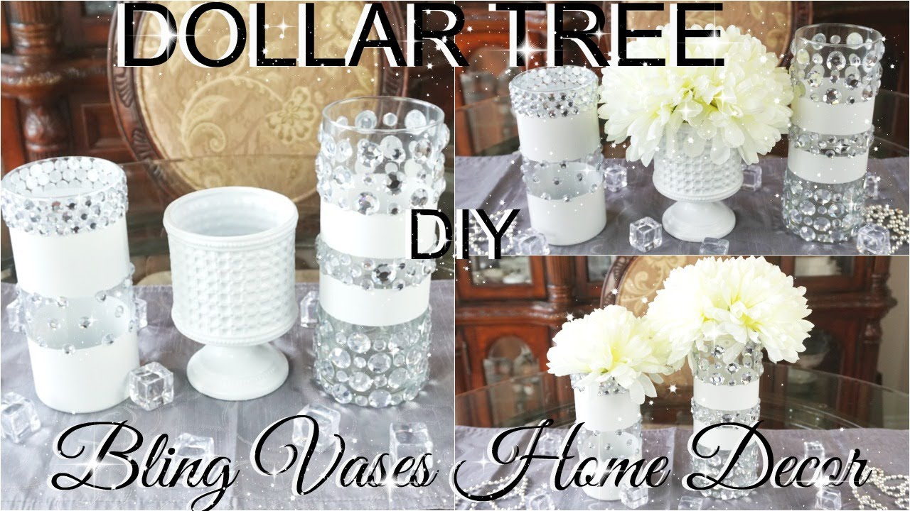 Dollar Tree Bling Decor Vases Idea Part 2 Petalisbless 🌹 Youtube