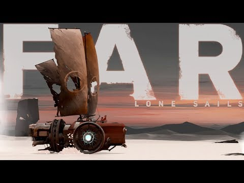 FAR: Lone Sails - Post Apocalyptic Dried Sea Exploration! - An Epic Adventure - Far Lone Sails Pt 1