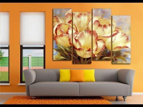 Картины в Интерьере Гостиной - 2018 / Pictures in the Interior of the Living Room