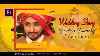 Premiere Pro Cc Wedding Title Project l Cinematic Title l Wedding Love Title I#mantraadcom