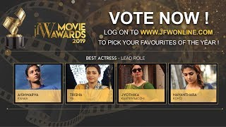 Jfw Movie Awards 2019 Best actress Nominees