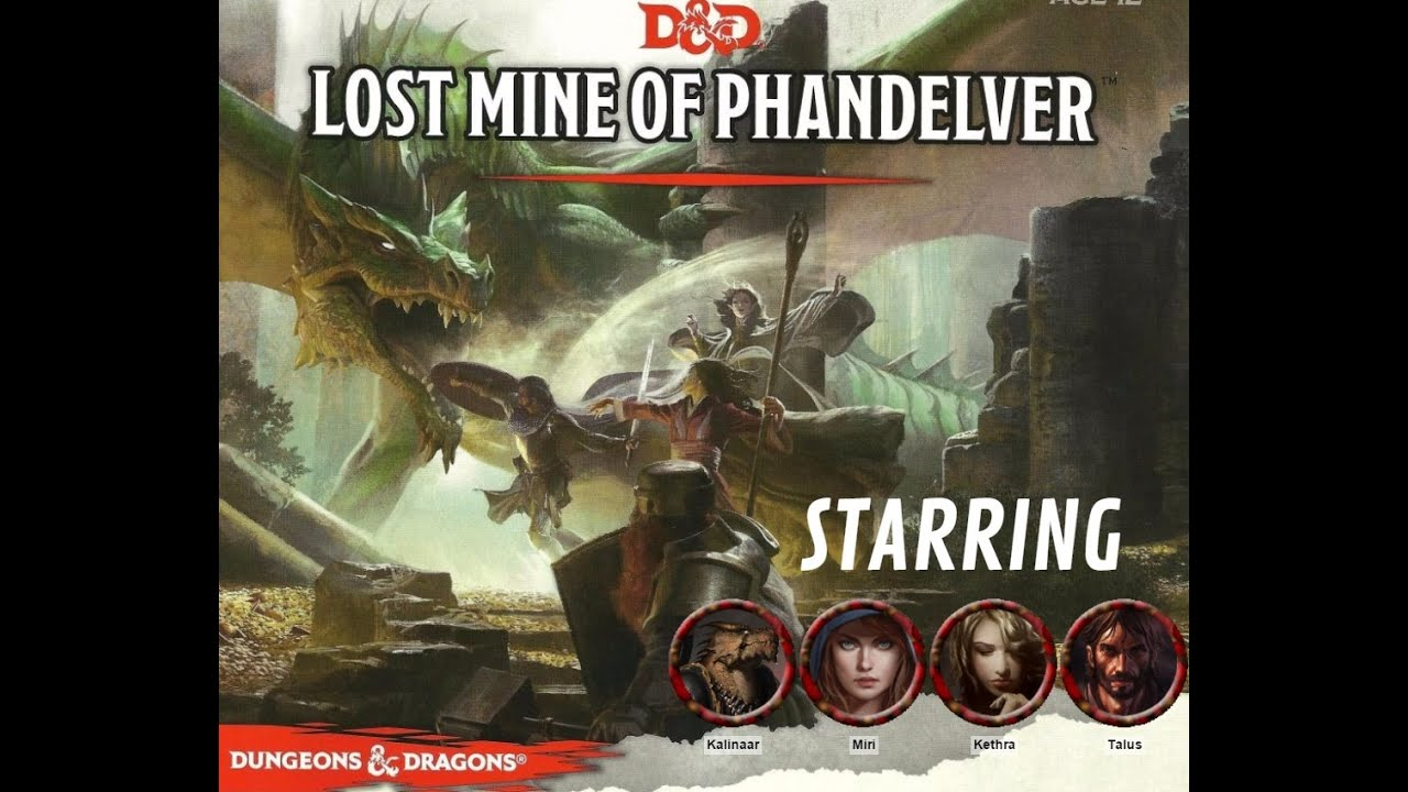 D&D 5E - `Lost Mine of Phandelver` Session 3 by Eric Watson