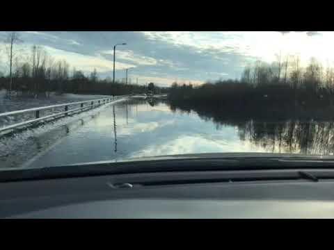 Ounasjoki tulvii