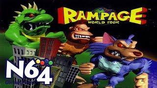 Rampage World Tour - Nintendo 64 Review - HD