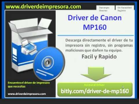 Descargar driver de mp140 ¿donde descargar en forma directa? Youtube.