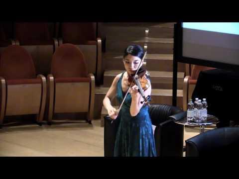 Violino Santo Serafino 1749: il suono ritrovato - Lena Yokoyama suona Vivaldi