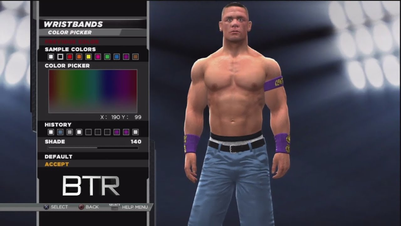 wwe 2k15 superstar threads john cena purple 2010 never give up in