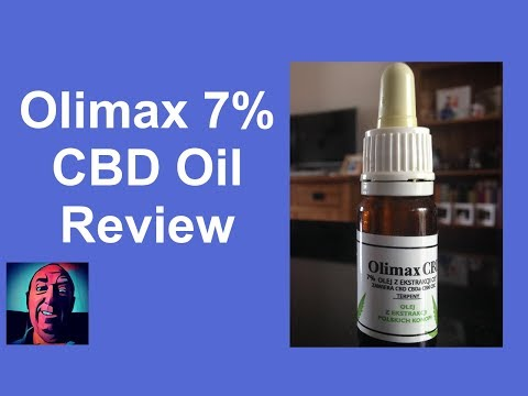 CBD Oil Review Olimax 7%