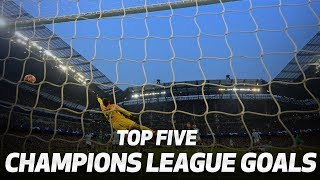 TOP 5 GOALS | TOTTENHAM HOTSPUR'S ROUTE TO THE CHAMPIONS LEAGUE FINAL