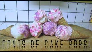 CONOS DE CAKE POPS! (día de San Valentin) Thumbnail