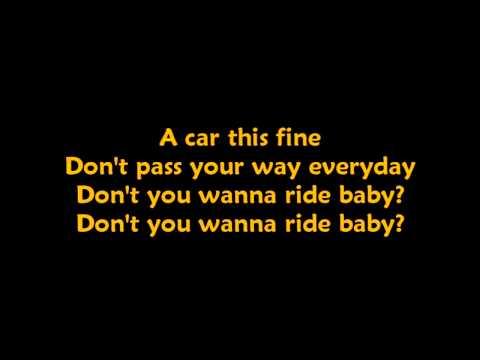 Don't Cha Wanna Ride - Joss Stone (lyrics)