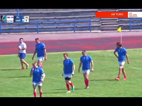Iceland 7s vs San Marino 7s ( Men`s Sevens Conference 2 Tallinn 2017 )