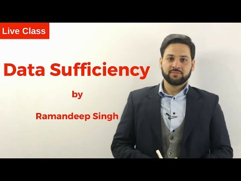 Data Sufficiency by Ramandeep Singh