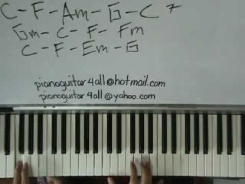 Piano piano chords soul : new soul by yael naim piano tutorial - YouTube