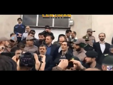 Ex president Ahmadinejad new  speech in  court of his deputy Baghaei