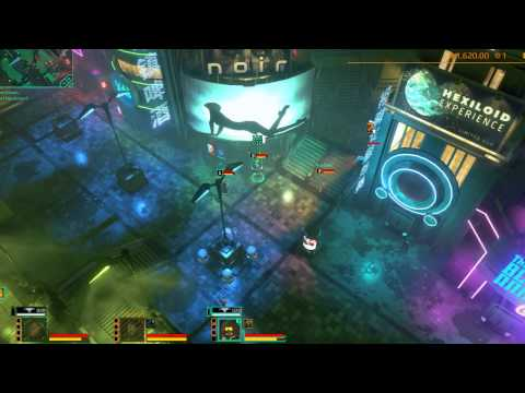 Satellite Reign Co-op Game Play