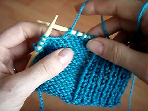 How To Knit: Tinking In Purl And Rib