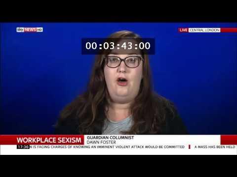 Peter Lloyd schools militant feminist Dawn Foster on Sky News