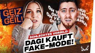 Schlechtes Vorbild: Dagi kauft FAKE-Mode! • Mois NERVT! | #WWW