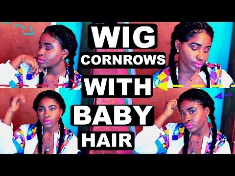 cornrows-/-french-braid-on-a-wig-+-baby-hairs-tutorial-mensahgurl