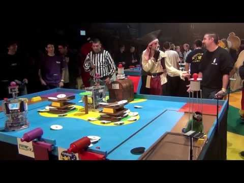 2012 - Wall-y vs 7Robot - Coupe de France de robotique 2012