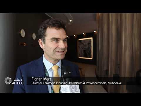Florian Merz, Director, Strategic Planning, Petroleum & Petrochemicals, Mubadala at ADIPEC 2019