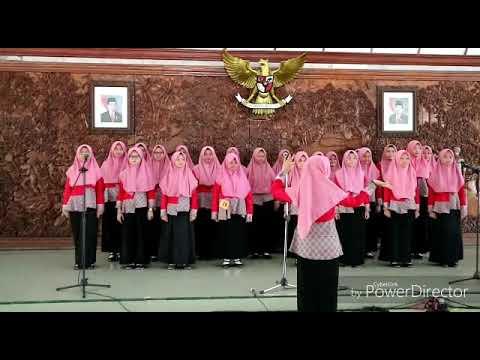 JUARA 1 Mars Syubbanul Wathon - Alfa Quarted SMA PLUS AL-FATIMAH Bojonegoro 2018