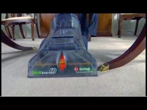 Hoover Max Extract 60 Pressure Pro Carpet Deep Cleaner FH50220 YouTube