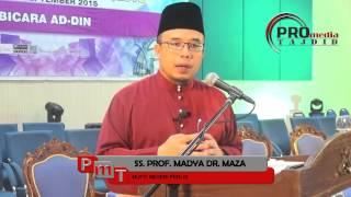 03-09-2015 SS. PROF. MADYA DR. MAZA: Perlis & Pegangan Mazhab