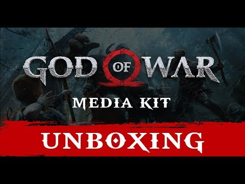 God of War PS4 Media Kit Unboxing | Limited Edition