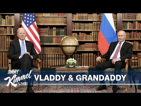 """Putin Meets with Biden After Years with His """"Genius"""" KGBFF Trump & The Jimmy Kimmel LA Bowl!"""