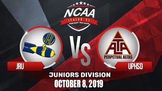 JRU vs. UPHSD | NCAA 95 Jrs Basketball | October 8, 2019