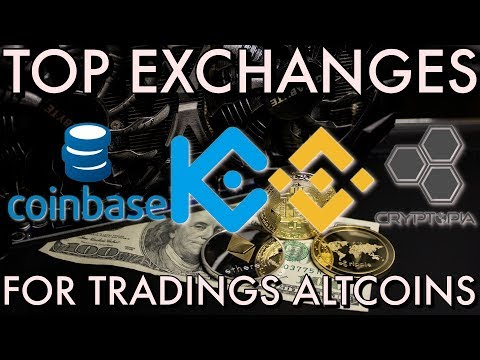 Top Exchanges For Trading Altcoins and Cryptocurrency