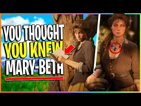 The REAL Mary-Beth Gaskill You Didn't Know About | Red Dead Redemption 2