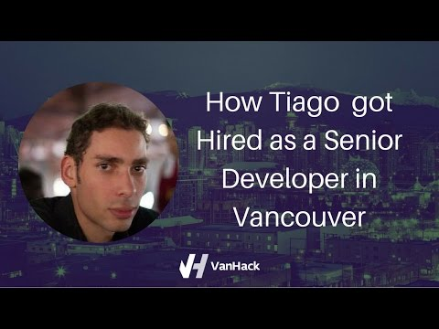 How Tiago got hired in Canada as a Senior Developer (and got a BMW!)