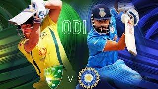 Australia vs India 1st ODI Match Preview | Cricket Live | DD Sports