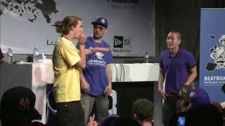 Dharni vs Skiller - Best 16 - 2nd Beatbox Battle World Championship