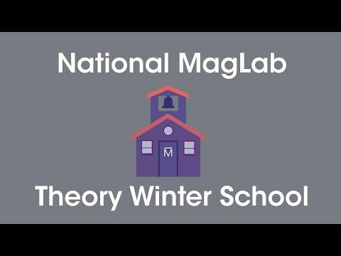 MagLab Theory Winter School 2017: Silke  Biermann & Steffan Backes - DMFT Tutorial Hands On