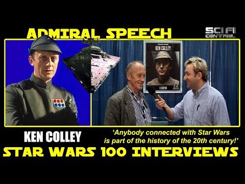 Star Wars 100 Interviews: KEN COLLEY as Admiral Piett