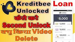 How to unlock next loan amount kreditbee || Kreditbee loan