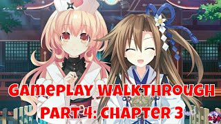 Neptunia X Senran Kagura Ninja Wars - Gameplay Walkthrough Part 4 | English (PS4 Pro, 1080p)