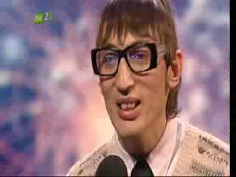 Britains Got Talent - Eugene (Librarian/poet)
