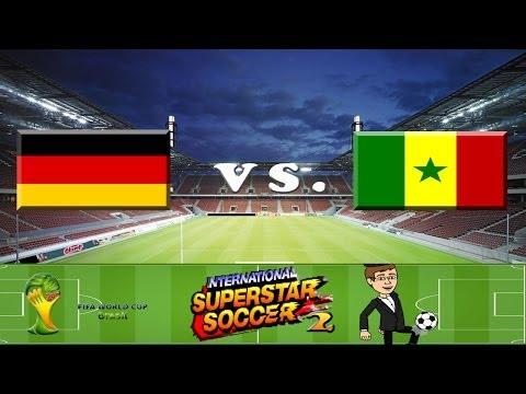 Deutschland vs. Senegal | International Superstar Soccer 2 #003