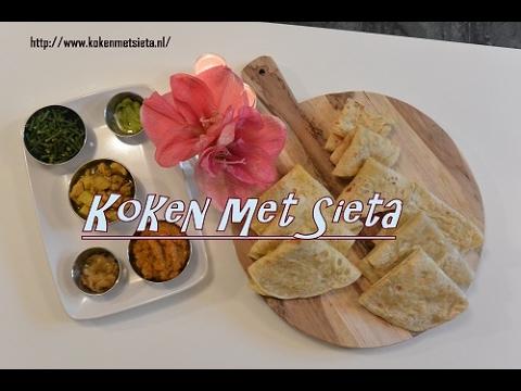 3 Roti recepten (vegetarisch)