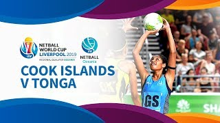 Cook islands v tonga  i day 5 i oceania netball world cup qualifiers