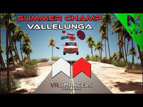 Assetto Corsa - SUMMER CHAMP (Circuito VALLELUNGA)  -Sin comentarios-